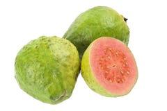 Fruta de guayaba rosada Imágenes de archivo libres de regalías