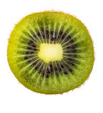 Fruta de kiwi aislada fotos de archivo libres de regalías