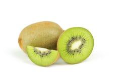 Fruta de kiwi aislada en el fondo blanco Foto de archivo