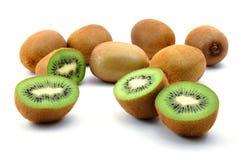 Fruta de kiwi aislada en el fondo blanco imagen de archivo libre de regalías