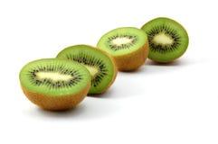 Fruta de kiwi aislada en el fondo blanco imagenes de archivo