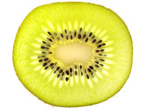 Fruta de kiwi cortada Imágenes de archivo libres de regalías