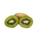 Fruta de kiwi cortada Imagenes de archivo