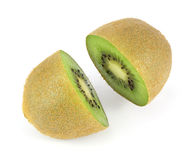 Fruta de kiwi cortada por la mitad Imagen de archivo libre de regalías