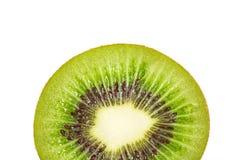 Fruta de kiwi dentro con las semillas Fotos de archivo