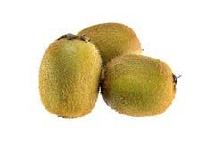 Fruta de kiwi en el fondo blanco Fotografía de archivo libre de regalías