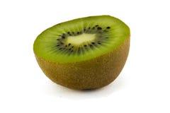 Fruta de kiwi jugosa aislada en el fondo blanco Fotografía de archivo libre de regalías