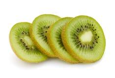 Fruta de kiwi rebanada Imagenes de archivo