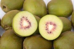 Fruta de kiwi roja Imágenes de archivo libres de regalías