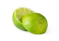 Fruta de la cal Imagenes de archivo