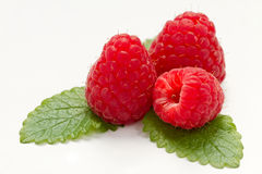 Fruta de la frambuesa Foto de archivo libre de regalías