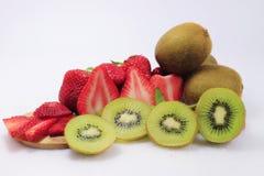 Fruta de la fresa de la vida Imagen de archivo libre de regalías