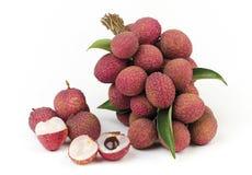 Fruta de la frescura de Lychee fotografía de archivo