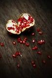 Fruta de la granada, aún vida Imagen de archivo libre de regalías