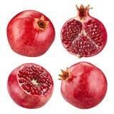 Fruta de la granada aislada Fotografía de archivo libre de regalías