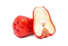 Fruta de la manzana de las huevas Imagenes de archivo