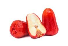 Fruta de la manzana de las huevas Fotos de archivo