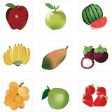 Fruta de la mezcla Imagen de archivo libre de regalías