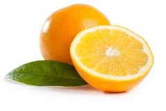 Fruta de la naranja de la fruta cítrica Imágenes de archivo libres de regalías