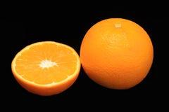 Fruta de la naranja del jugo Imagenes de archivo