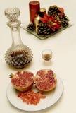Fruta de la Navidad Fotografía de archivo libre de regalías