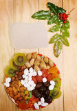 Fruta de la Navidad Imágenes de archivo libres de regalías