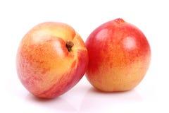 Fruta de la nectarina imagen de archivo