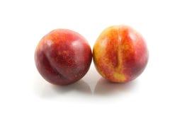 Fruta de la nectarina Foto de archivo