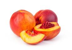 Fruta de la nectarina Fotografía de archivo libre de regalías