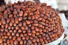Fruta de la palma consumida en el mes de Ramadan Muslims Imagen de archivo libre de regalías