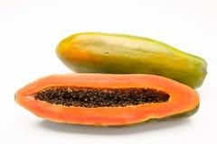 Fruta de la papaya. imagen de archivo libre de regalías