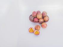 Fruta de la pasión sana Imagenes de archivo