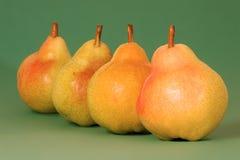 Fruta de la pera Foto de archivo libre de regalías
