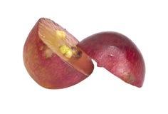 fruta de la uva roja Fotografía de archivo libre de regalías
