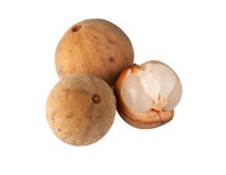 Fruta de Langsat Fotografía de archivo libre de regalías