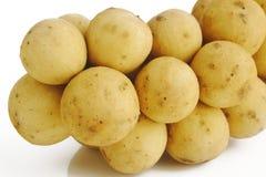Fruta de Langsat Fotografia de Stock Royalty Free