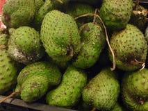 Fruta de las guanábanas Imagen de archivo libre de regalías