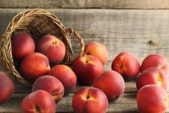 Fruta de las nectarinas imagen de archivo
