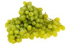 Fruta de las uvas blancas Imágenes de archivo libres de regalías