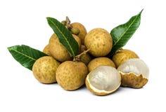 Fruta de Longan Fotografia de Stock