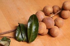 Fruta de Longan Fotografía de archivo libre de regalías