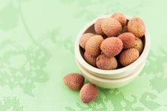 Fruta de Lychee Fotos de archivo libres de regalías