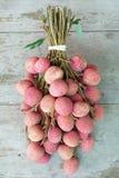 Fruta de Lychee Imagen de archivo