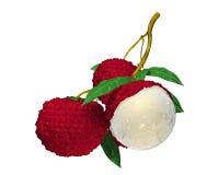 Fruta de Lychee Foto de Stock Royalty Free