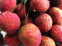 Fruta de Lychee Fotos de Stock Royalty Free