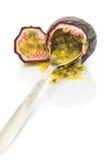 Fruta de paixão. imagem de stock