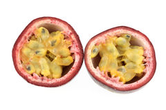 Fruta de paixão de Maracuya Foto de Stock
