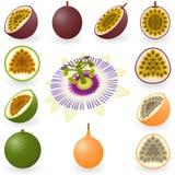 Fruta de pasión Fotos de archivo