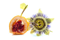 Fruta de pasión Imágenes de archivo libres de regalías