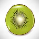 Fruta de quivi cortada Fotografia de Stock